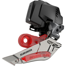 SRAM Rival eTap AXS D1 Desviador 2-Vel Braze-On, Plateado/negro